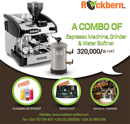 1 Group Espresso Machine Combo